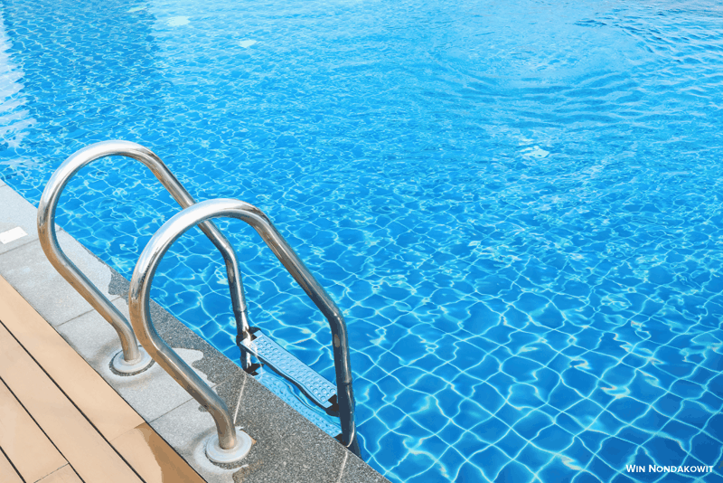 limpar piscina wd40