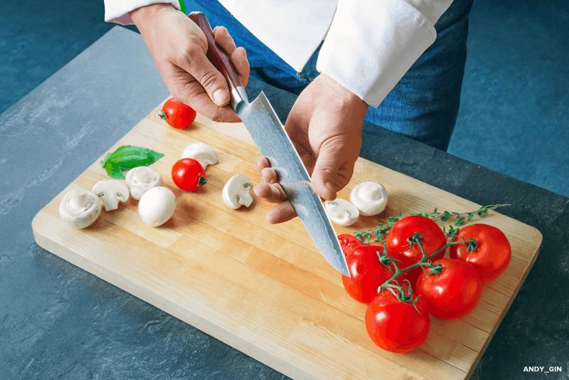 afiar facas da cozinha