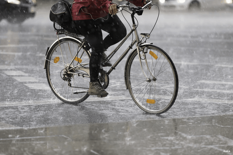 Andar de bicicleta no inverno - WD-40