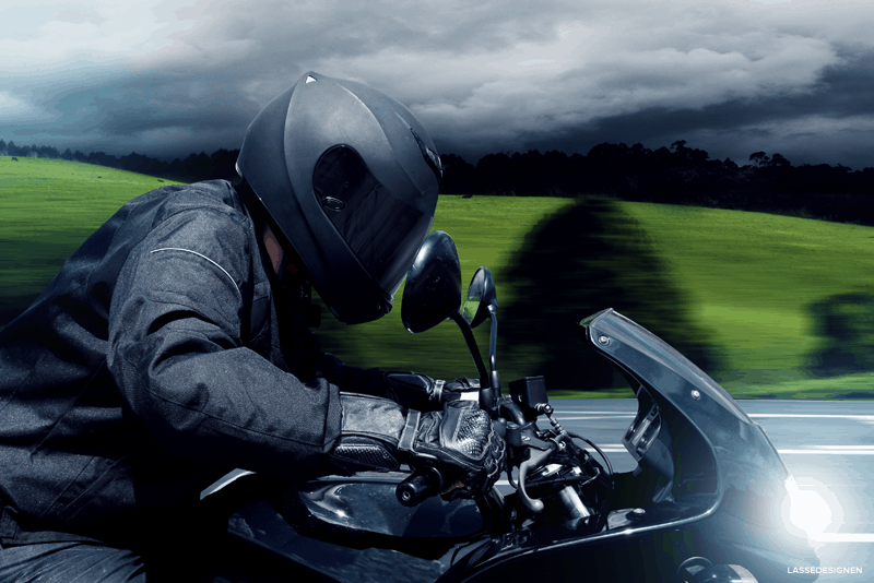 Equipamento para andar de moto no inverno - WD-40
