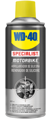 Moto a brilhar com WD-40 Specialist Motorbike