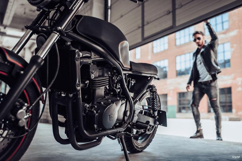 Guardar a moto na garagem - WD-40