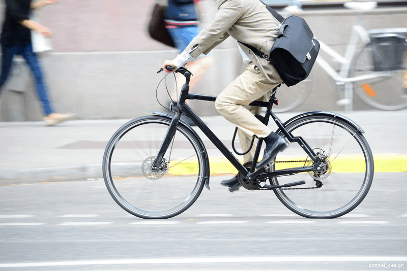Bicicleta híbrida - WD-40