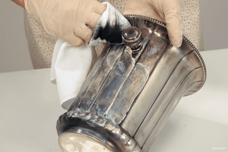 Como limpar prata - WD-40