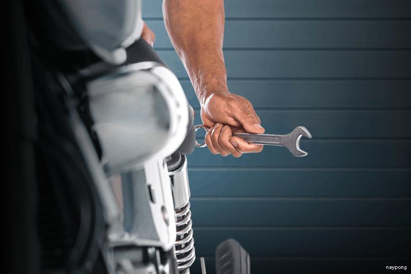 Manutenção da moto: tarefas para a manter em bom estado com WD-40