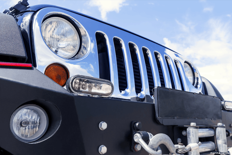 Limpeza do carro: remover insetos com WD-40