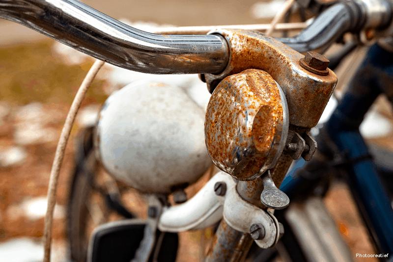 Mautencao da bicicleta - proteger da humidade com WD-40
