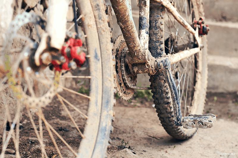 como limpar a bicicleta WD-40