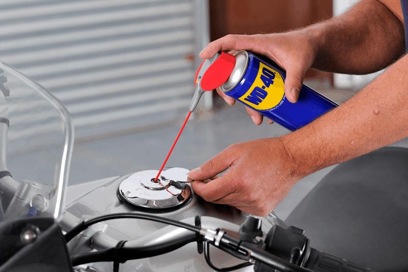 Manutencao Moto: proteger da corrosao e oxidacao