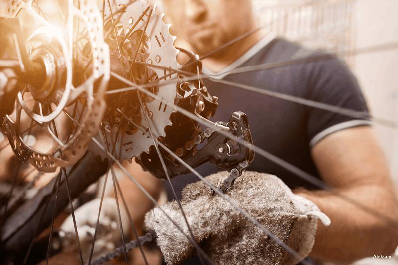 limpar correntes bicicleta wd 40 bike