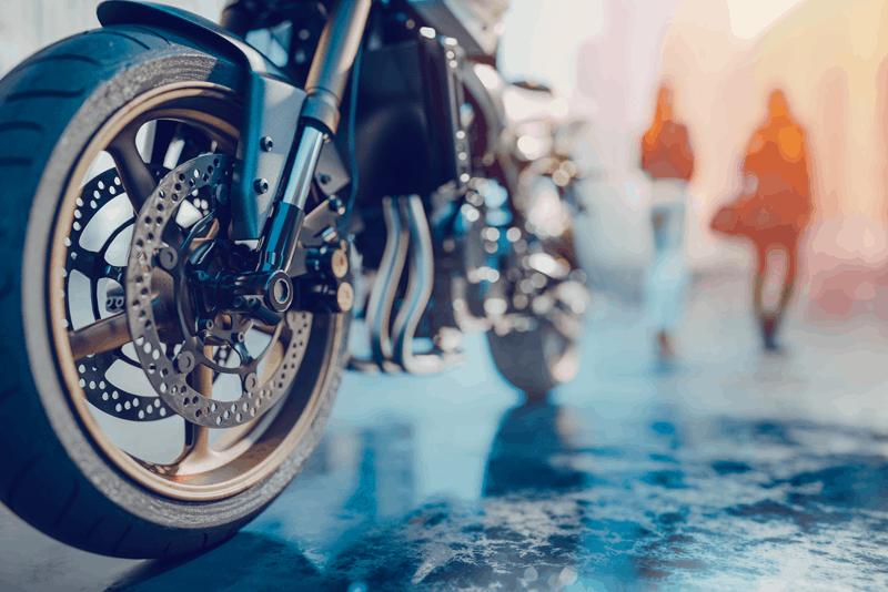 manutenção travões moto com WD-40