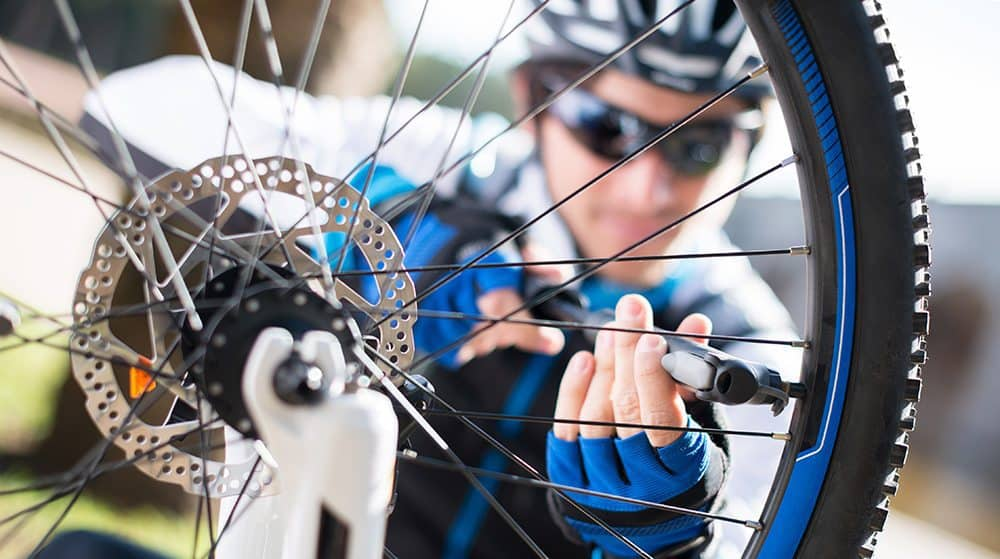 Manutenção da bicicleta – Pressão dos pneus da bicicleta
